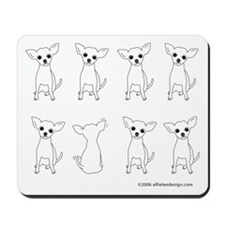 One of These Chihuahuas! Mousepad