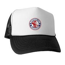 Brooklyn New York Russian Trucker Hat