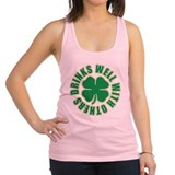 Drinks Well With Others.png Racerback Tank Top
