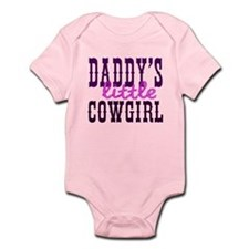 Daddy's Little Cowgirl Infant Bodysuit
