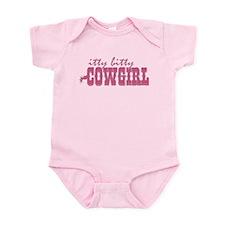 Itty Bitty Cowgirl Infant Bodysuit