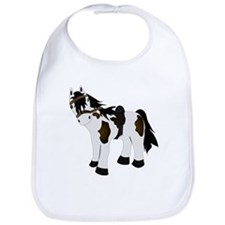Cute Paint Pony Bib