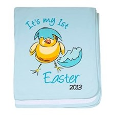 It's My First Easter '13 baby blanket