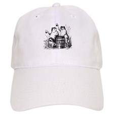 Beer Drinking Frogs Cap