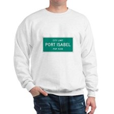 Port Isabel, Texas City Limits Sweatshirt