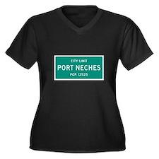 Port Neches, Texas City Limits Plus Size T-Shirt