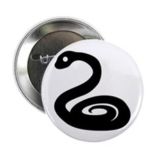 "Zodiac Snake 2.25"" Button (10 pack)"