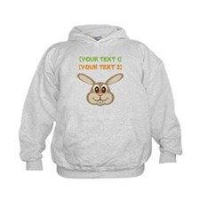 PERSONALIZE Easter Bunny Hoodie