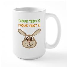 PERSONALIZE Easter Bunny Mug