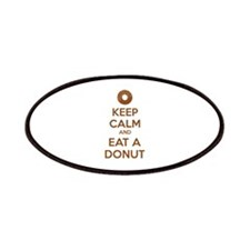 Keep calm and eat a donut Patches