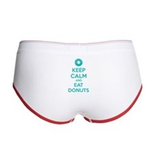 Keep calm and eat donuts Women's Boy Brief