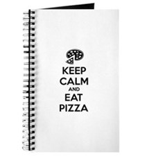 Keep calm and eat pizza Journal