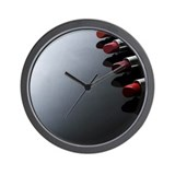 Hot Lipstick Wall Clock