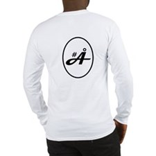 Long Sleeve T-Shirt<br>F: Logo<br>B: #Å