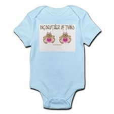Big Brother Of Twins (2 Girls) Infant Bodysuit