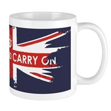 Keep Calm and Carry On Small Mugs