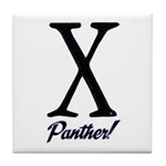 Panther fur Tile Coaster