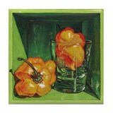 Scotch Bonnet Tile Coaster