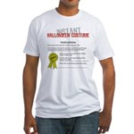 Instant Halloween Costume Fitted T-Shirt