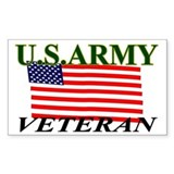 US A Veteran Decal