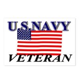 US N VETERAN Postcards (Package of 8)