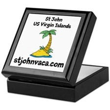 Cute St john usvi Keepsake Box