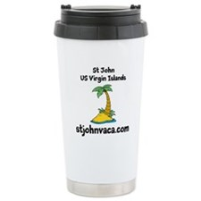 Cute Usvi Travel Mug