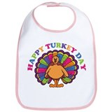 Happy Turkey Day Bib