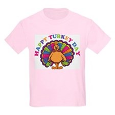 Happy Turkey Day Kids T-Shirt