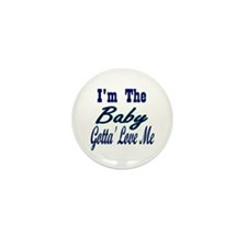I'm The Baby Mini Button (100 pack)