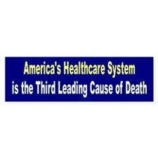 healthcare... Bumper Bumper Sticker
