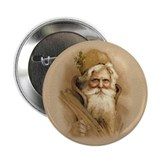 "Old World Santa 2.25"" Button (10 pack)"