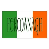 County Fermanagh Oval Decal