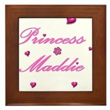 Cute Maddison Framed Tile