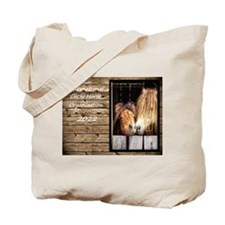 Unique Curly Tote Bag