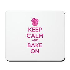 Keep calm and bake on Mousepad