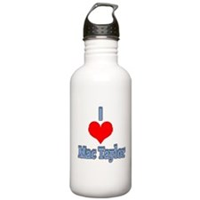 I heart Mac Taylor Water Bottle