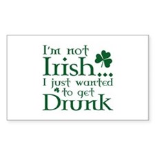 I'm Not Irish Decal