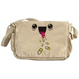 Pill Eater Messenger Bag