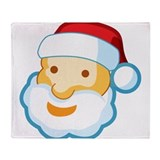 Santa Throw Blanket