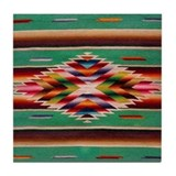 Cute Santa fe Tile Coaster