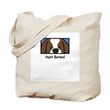 Anime Saint Bernard Tote Bag
