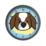 Love Saint Bernard Clock