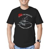 Arm the Whales Women's T-Shirt (Dark) T-Shirt