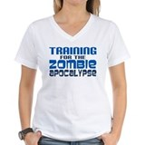 Zombie run Womens V-Neck T-shirts