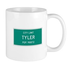 Tyler, Texas City Limits Coffee Mug