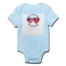 USA / UK Country Heritage Infant Bodysuit