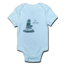 Be Mindful Cairn Rocks Body Suit