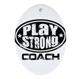 PSLogo_Tee_Coach Ornament (Oval)