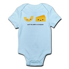 Macaroni and Cheese Body Suit